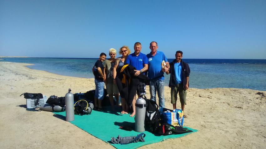 On Tour, Dive Crew Swordfish, Deep Ocean Blue Diving Center, Marsa Alam, Ägypten, El Quseir bis Port Ghalib