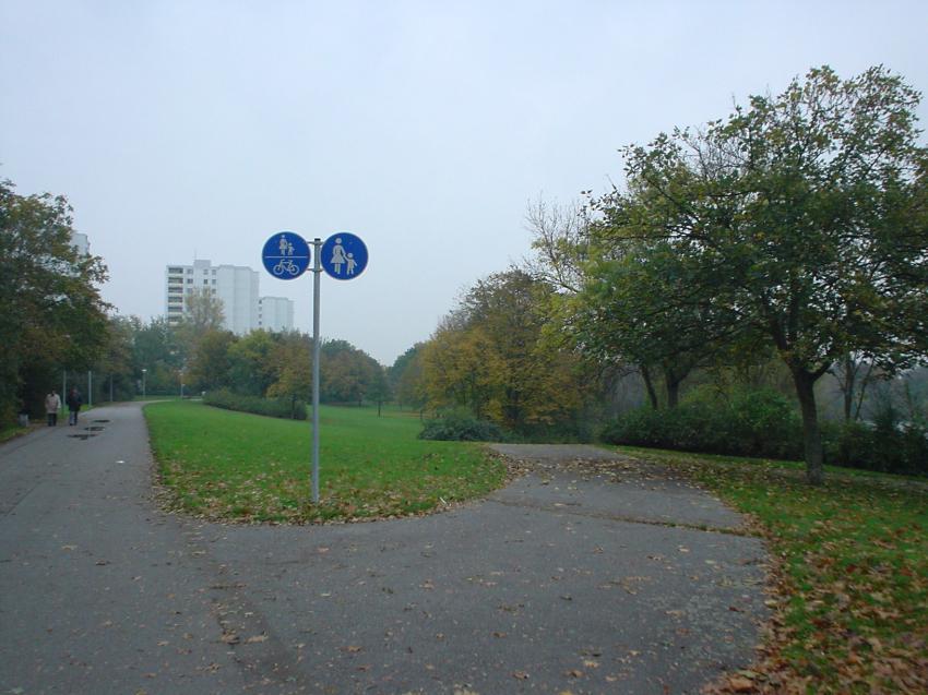 Vogelstang See Mannheim, Vogelstangsee,Mannheim,Baden Württemberg,Deutschland,Gehweg,Radweg,Weg