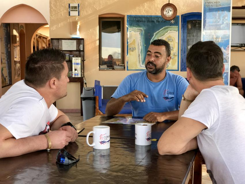 Osama , Coraya Divers, Coraya Beach, Marsa Alam, Ägypten, Marsa Alam und südlich