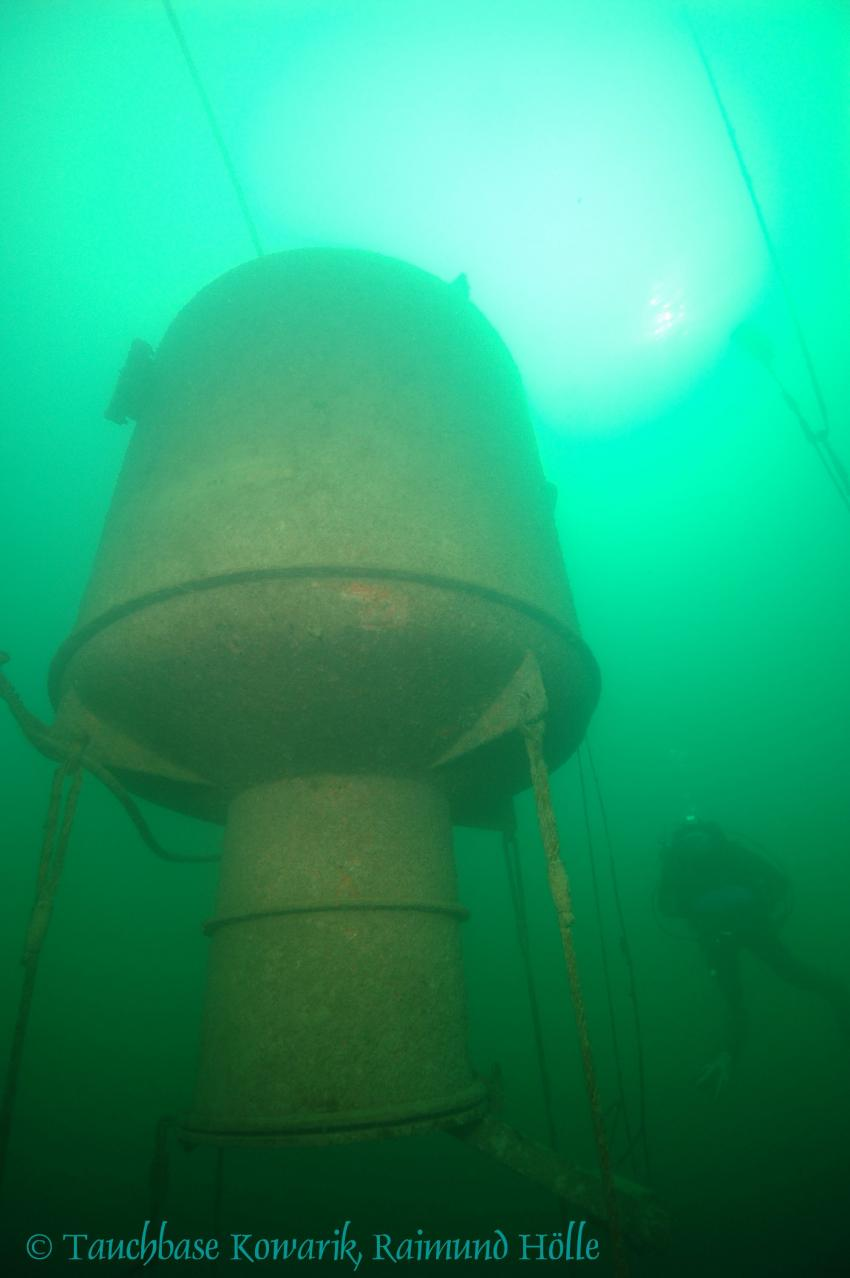 Achensee, Achensee,Österreich,Unterwasserstation,trüb
