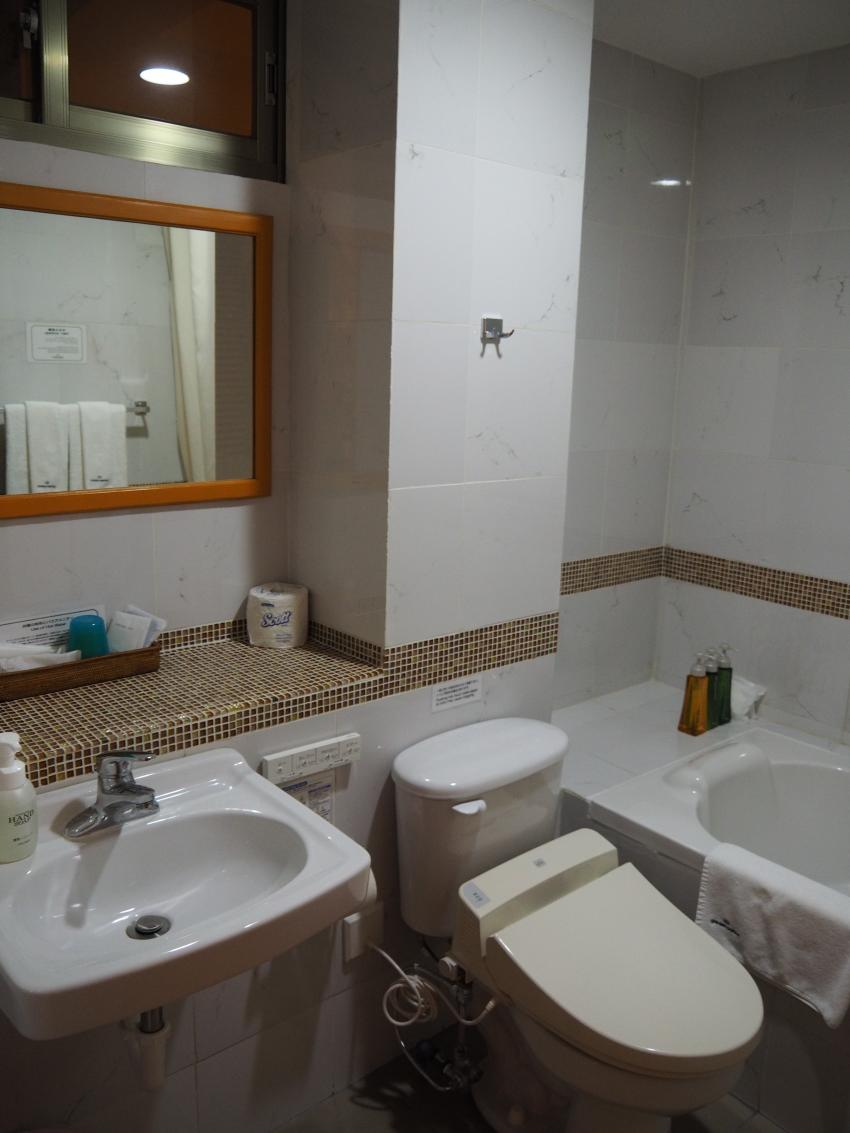 sehr modernes Badezimmer, Garden Palace Downtown Koror, Palau, Palau