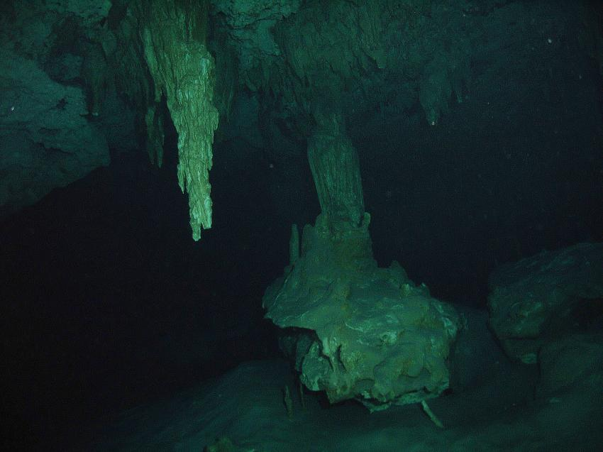 Cenote Bat-Cave (DosOjos), Cenote Dos Ojos (Bat-Cave),Mexiko