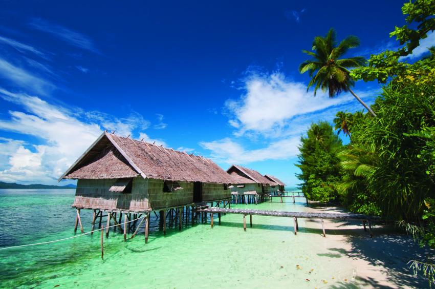 Superior water cottages, Kri Eco Resort, Indonesien, Allgemein