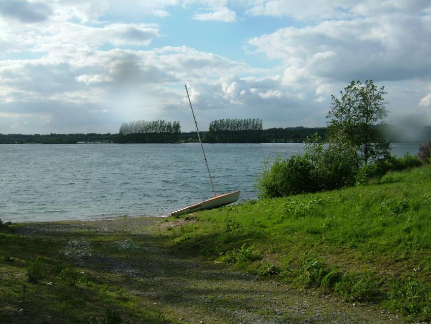 Elbsee in Hilden, Elbsee,Hilden,Nordrhein-Westfalen,Deutschland