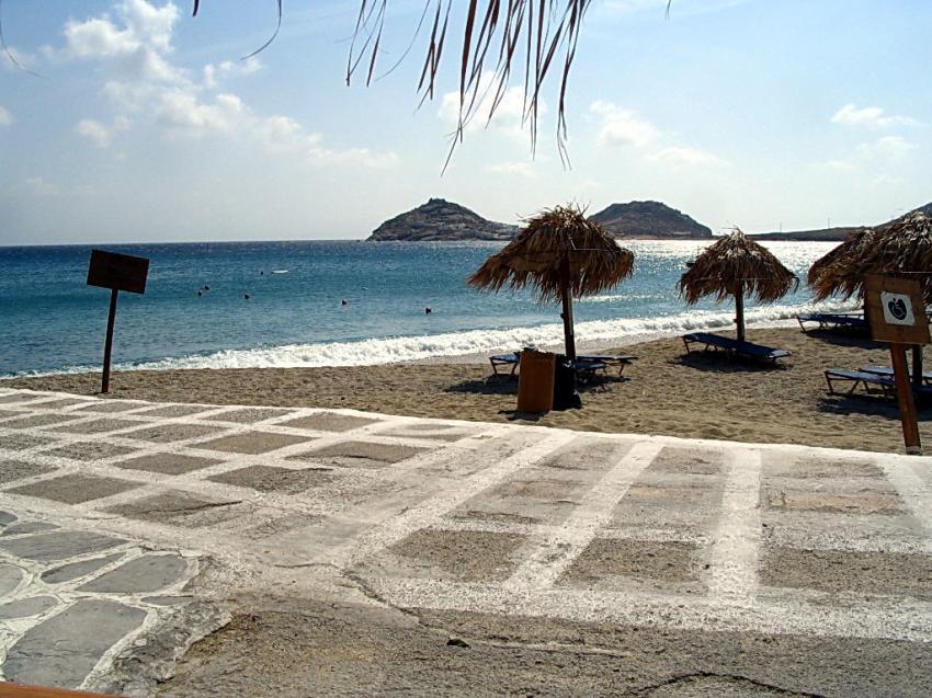 Mykonos, Mykonos,Griechenland,Hausbucht,Strand