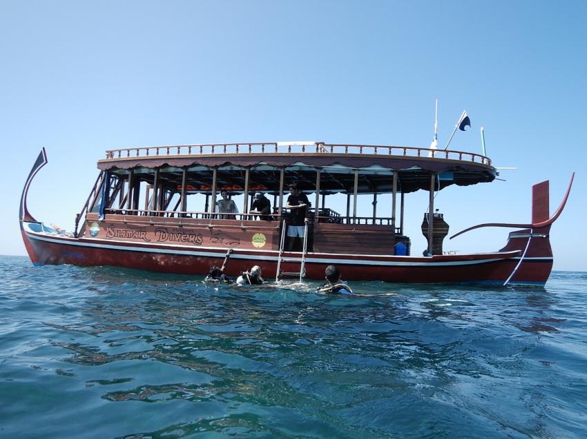 Neues Dhoni Shamar Divers, Shamar Divers Maamigili, Malediven