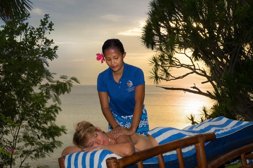 Relaxen @ Sampaguita, Natur Entspannen Tauchen Schnorcheln Urlaub, Sampaguita Resort Hotel, Tongo Point, Maolboal, Cebu Island, Philippinen