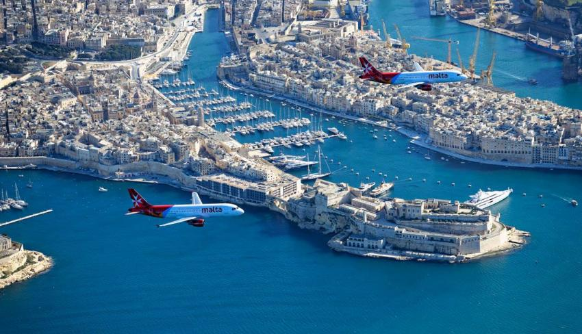 Air Malta, Malta
