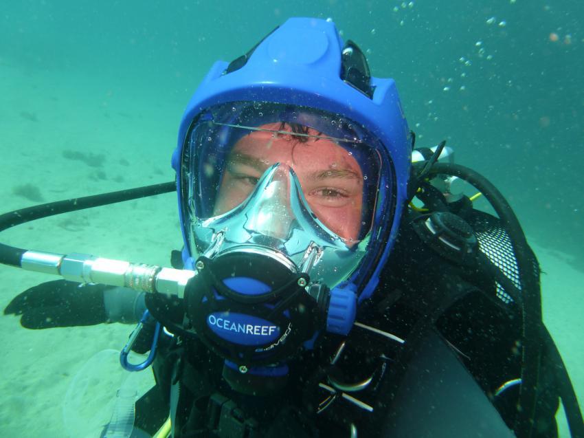 Ocean Reef Vollgesichtsmaske, Advanced Kurs, PADI, Vollgesichtsmaske Kurs, DiveSmart Gozo, Malta, Gozo