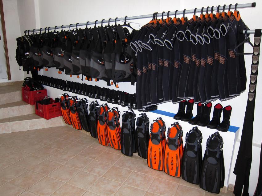 Leihausrüstung, Extra Divers El Hierro, Spanien, Kanarische Inseln