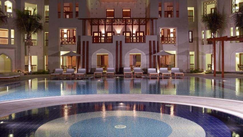 Hotelpool, auch für Tauchausbildung super, Extra Divers, Sifawy Boutique Hotel, Sifah, Oman