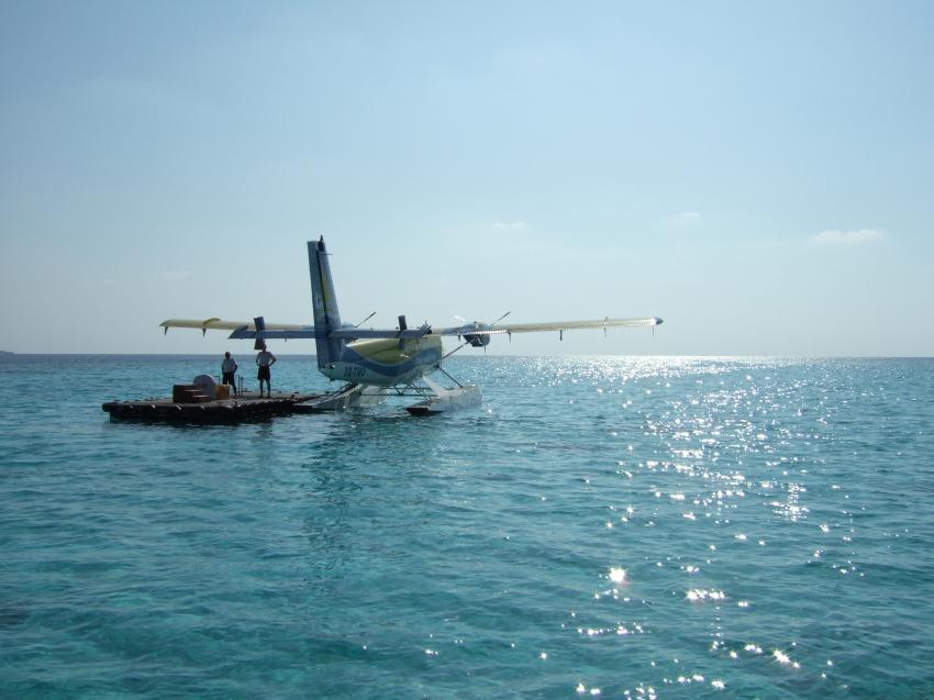 Angaga / Ari Atoll, Angaga / Ari Atoll,Malediven,Wasserflugzeug