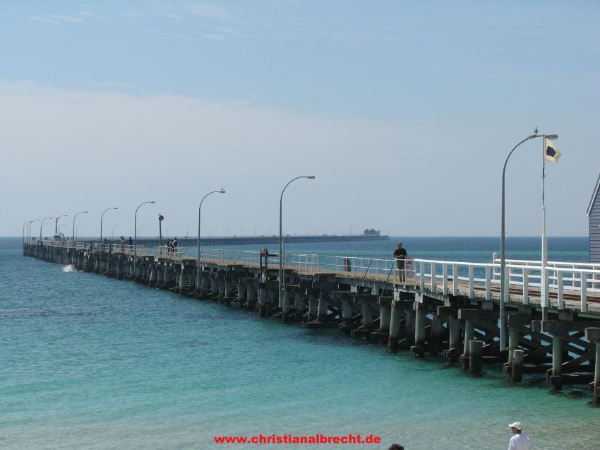 Busselton Jetty, Busselton, Westaustralien, Busselton Jetty,Australien,Jetty,Steg,Brücke