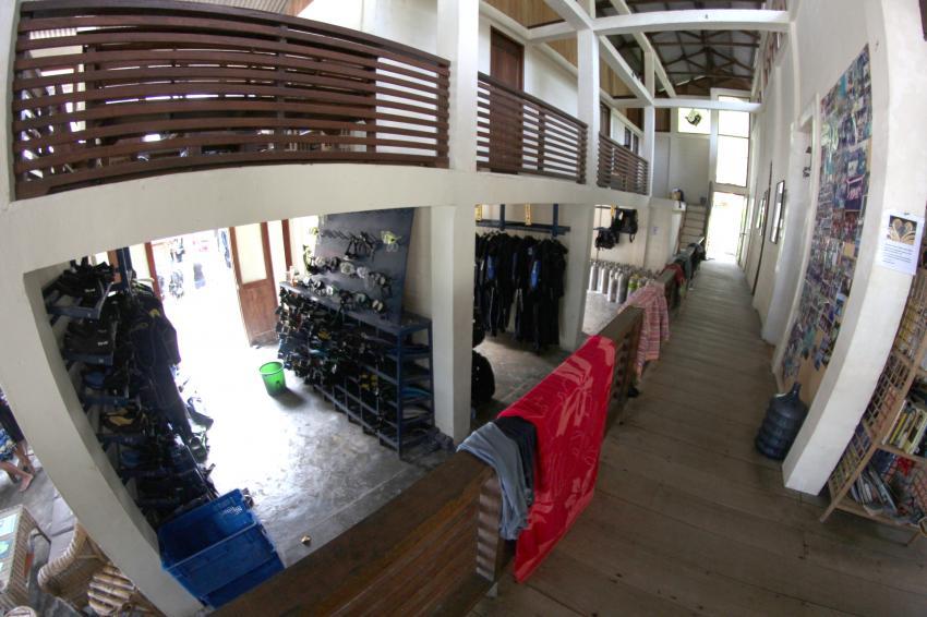 Das Divecentre, Lumba Lumba Diving Center, Pulau Weh, Sumatra, Indonesien, Allgemein