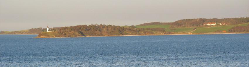 Die Halbinsel Røsnæs Fyr, Røsnæs Fyr, Dänemark