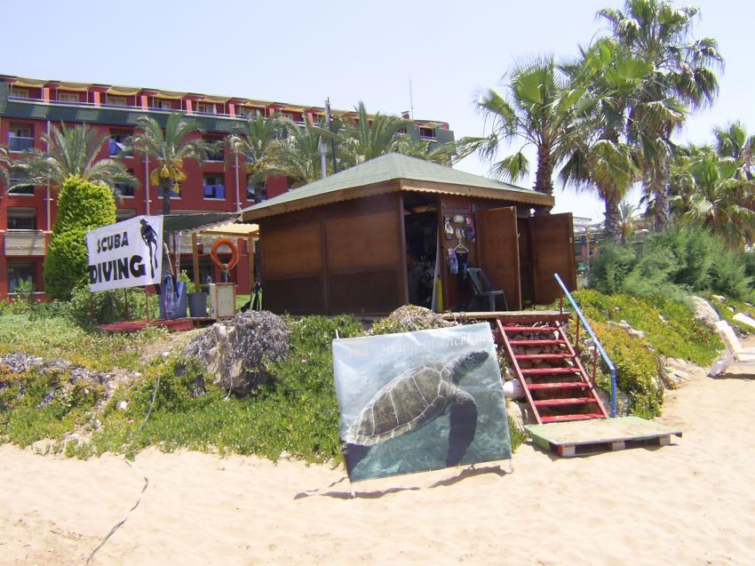 "Die ""Tauchbasis"" !!, Scuba Turtle - Diving School, Türkei"