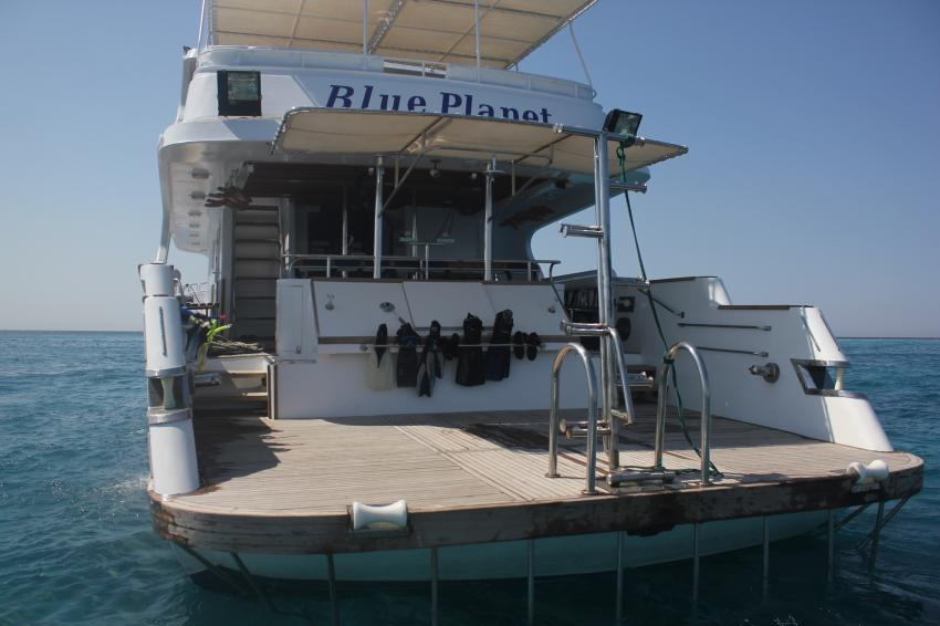 M/Y Blue Planet 1, Ägypten