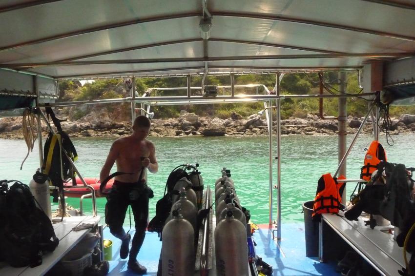 Pattaya Dive Centre, Thailand, Golf von Thailand