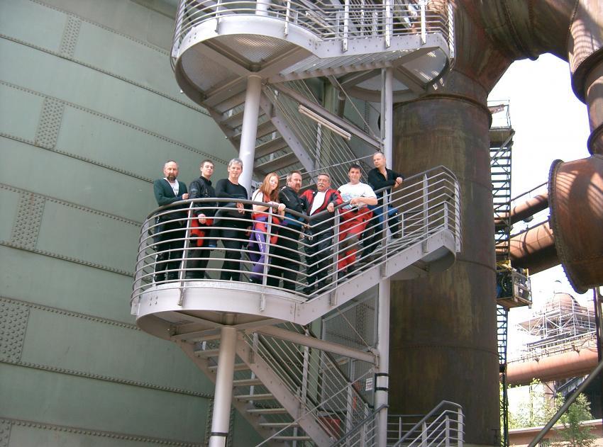 Duisburg Gasometer, Gasometer (Tauchrevier),Duisburg,Nordrhein-Westfalen,Deutschland,Gasometer