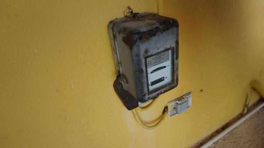 Stromzähler, Apartments Watapana, Niederländische Antillen, Curaçao