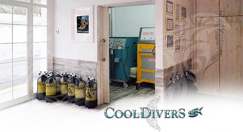 Kompressor/Flaschen, Cool Divers, Puerto Andratx, Mallorca, Spanien, Balearen