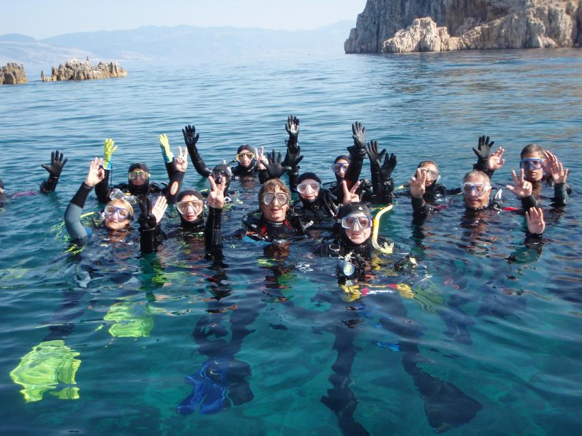 TAUCHER, Dive City, Crikvenica, Kroatien