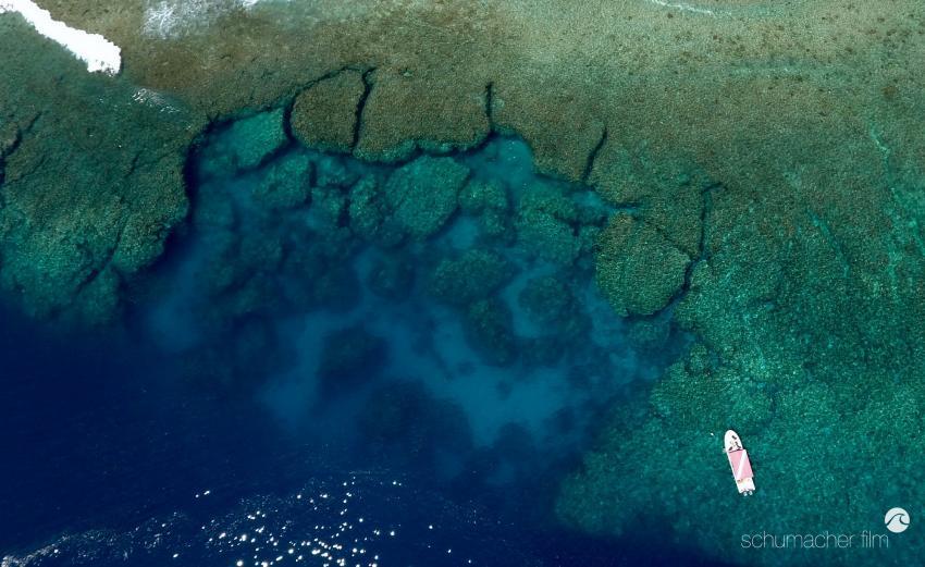 Yap Caverns (Luftaufnahme)
