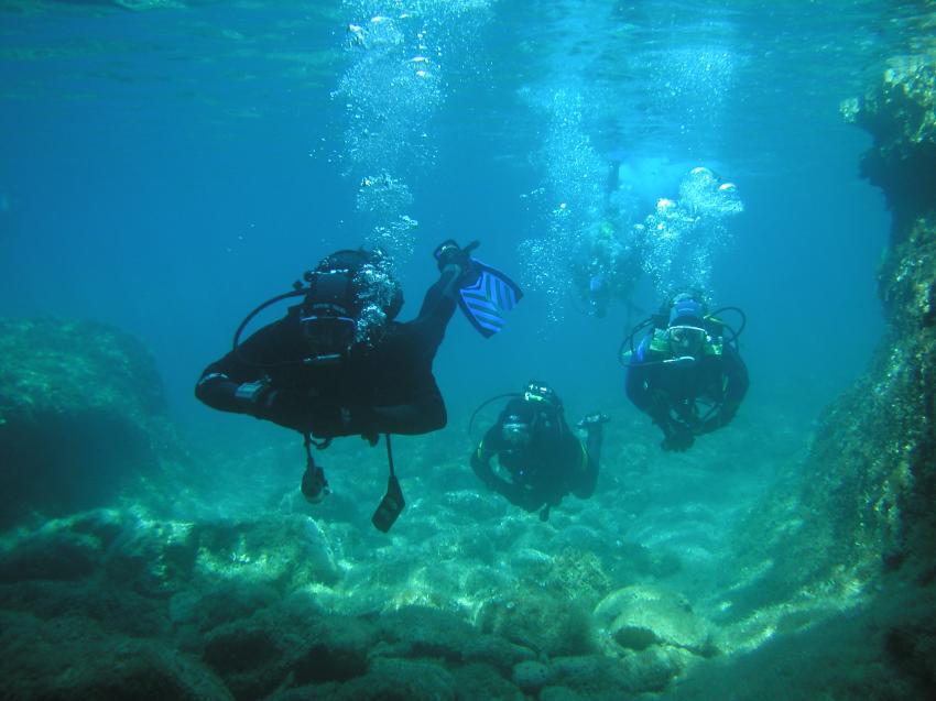 Insel Cres, Insel Cres,Kroatien,taucher