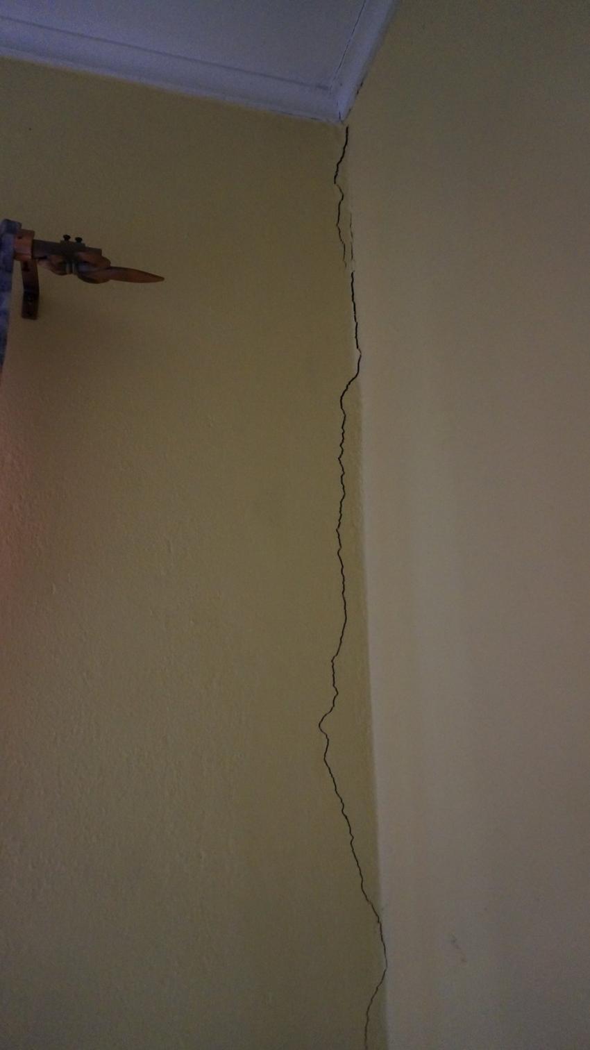 Wand im Schlafzimmer, Apartments Watapana, Niederländische Antillen, Curaçao