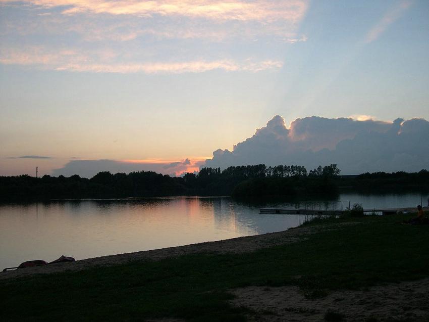 Tuttenbrocker See, Tuttenbrock Beckum,Nordrhein-Westfalen,Deutschland
