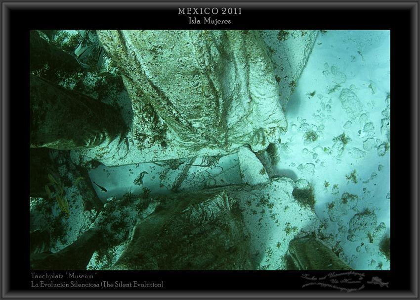 La Evolución Silenciosa (The Silent Evolution), Isla Mujeres - Skulpturen - Tauchplatz Museum,Mexiko