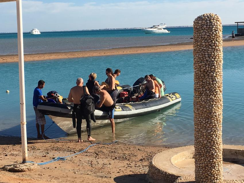 Speed boat trip, Coraya Divers, Club Paradisio, El Gouna, Ägypten, Hurghada