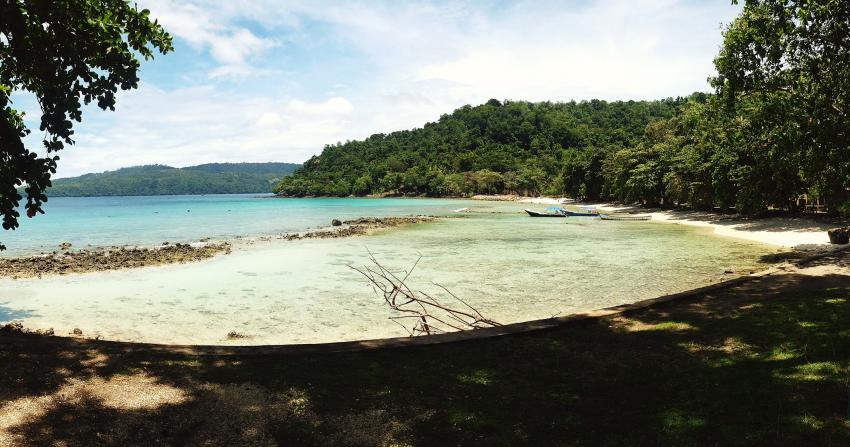 Unser Strand, Lumba Lumba Diving Center, Pulau Weh, Sumatra, Indonesien, Allgemein