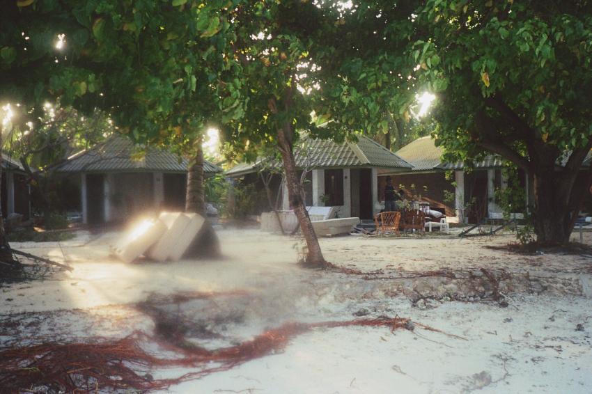 Lohifushi  ( Nord Male Atoll ) Nach der Welle, Lohifushi,Malediven,tsunami,welle,zerstörung,überflutung