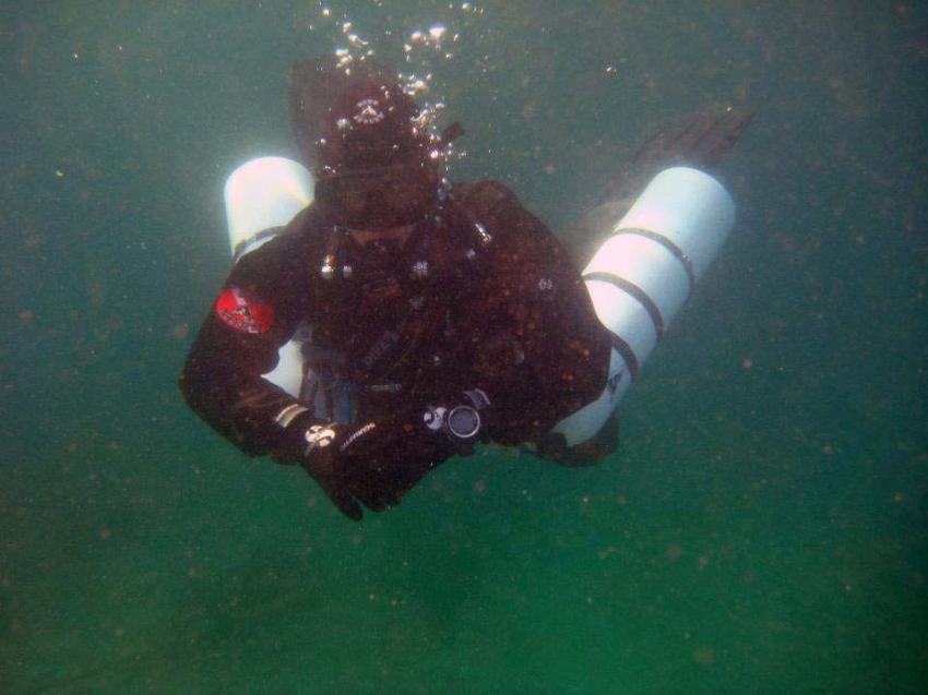 Sidemount Tauchen, Gardasee, Sidemount, TecRec, PADI, Sportdiver Club, Italien