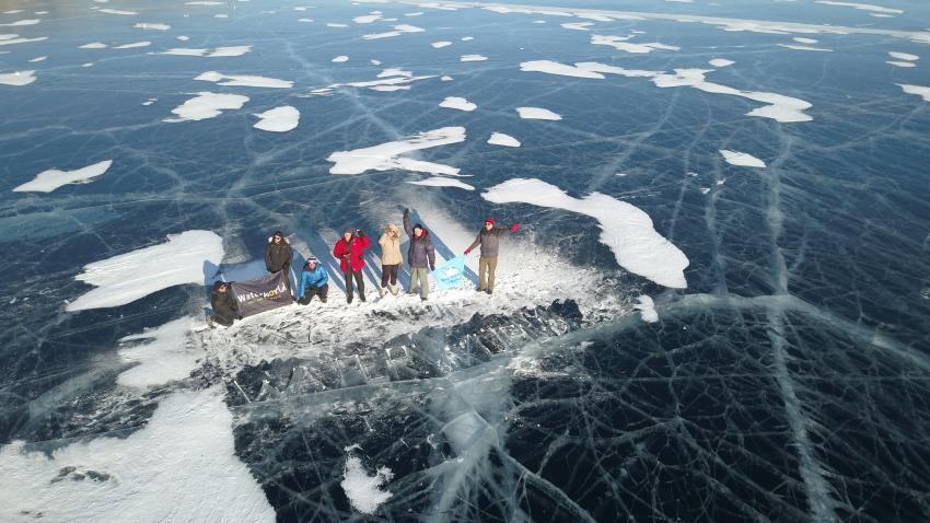 Bild der Teilnehmer, Baikalsee / Sibirien, Russland
