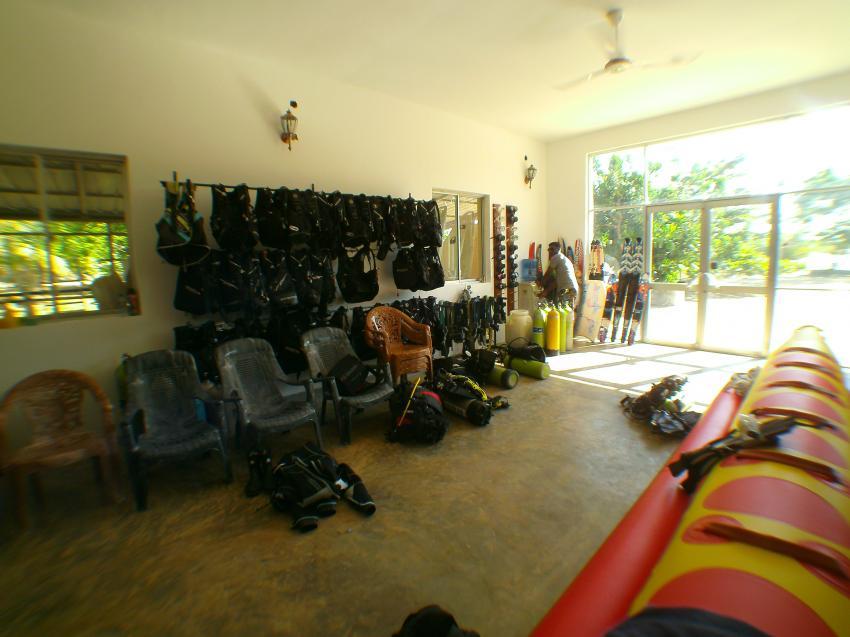 1-Raum-Basis, LSR Diving Passikuda, Sri Lanka