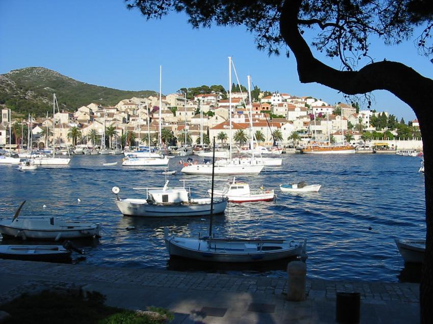 Insel Hvar, Insel Hvar,Kroatien,Hafen,Hvar