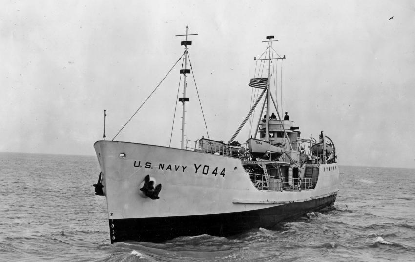 Das Navy-Tankschiff YO-44, YO-44, Kodiak Queen, Wrack YO-44 (Kodiak Queen), Britische Jungferninseln