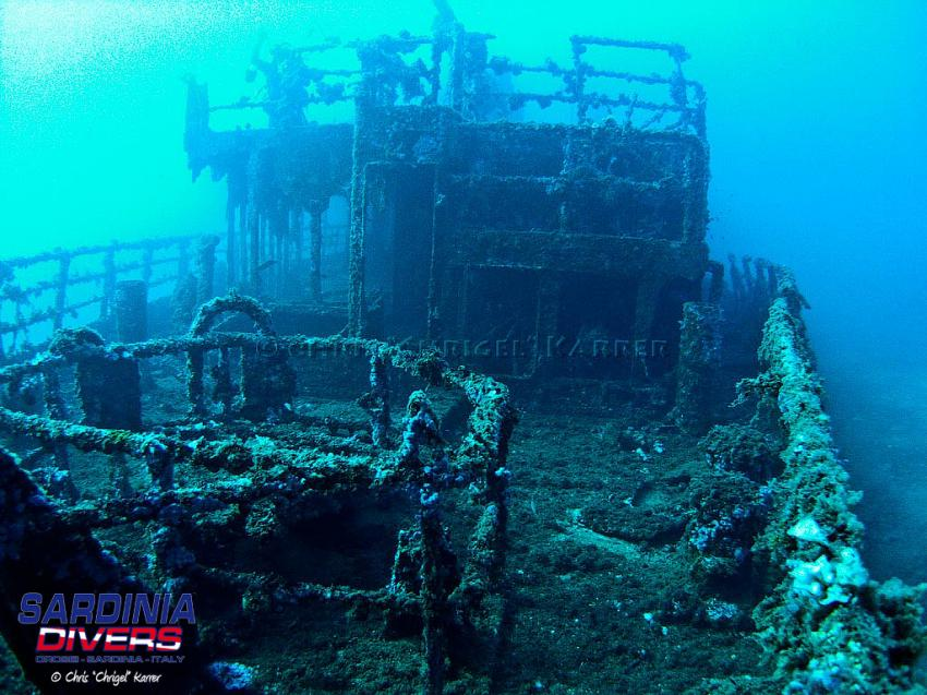 KT12 Wrack, KT12 Wrack, Sardinia Divers, Orosei, Italien, Sardinien