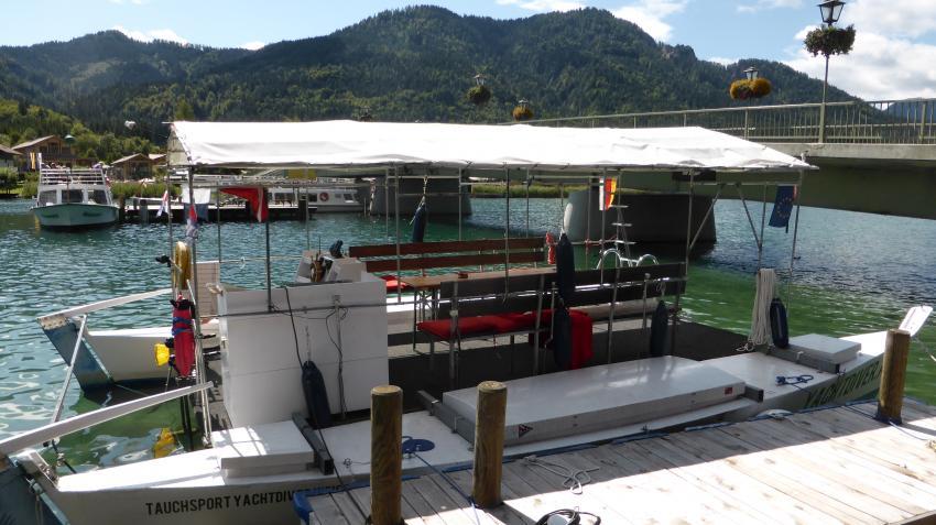 ES YACHTDIVER I, Yachtdiver Techendorf Weißensee, Österreich