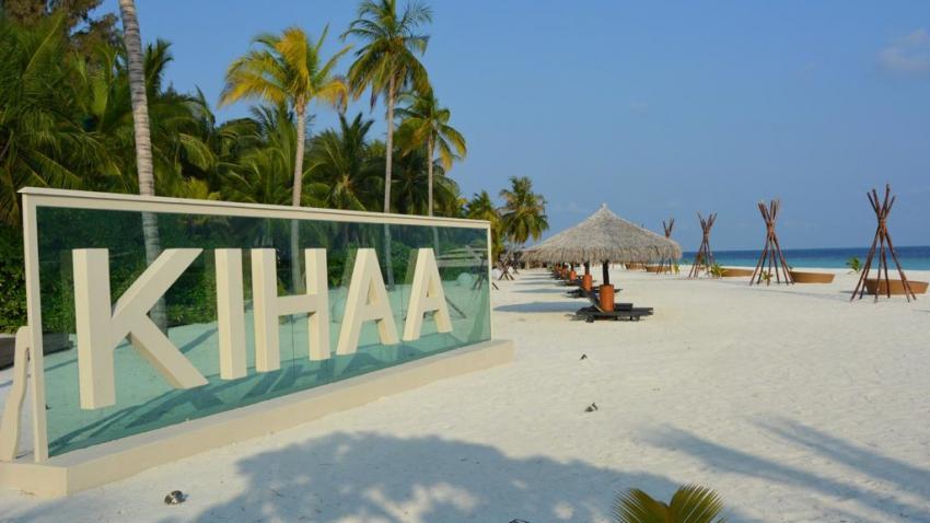 Kihaa Strand, Strand, Ocean Dimensions, Kihaa Maldives, Baa Atoll, Malediven