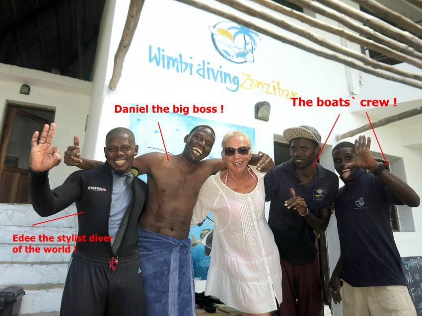 Karafuu Diving (Wimbi Diving), Zanzibar, Tansania