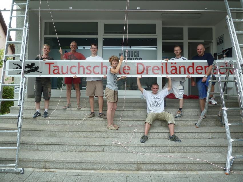 Tauchschule Dreiländereck, Lörrach, Deutschland, Baden Württemberg