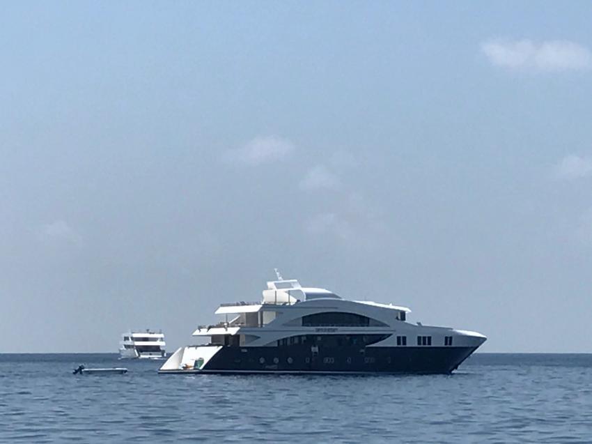 Emperor Serenity Baujahr 2016, Emperor Serenity, Malediven