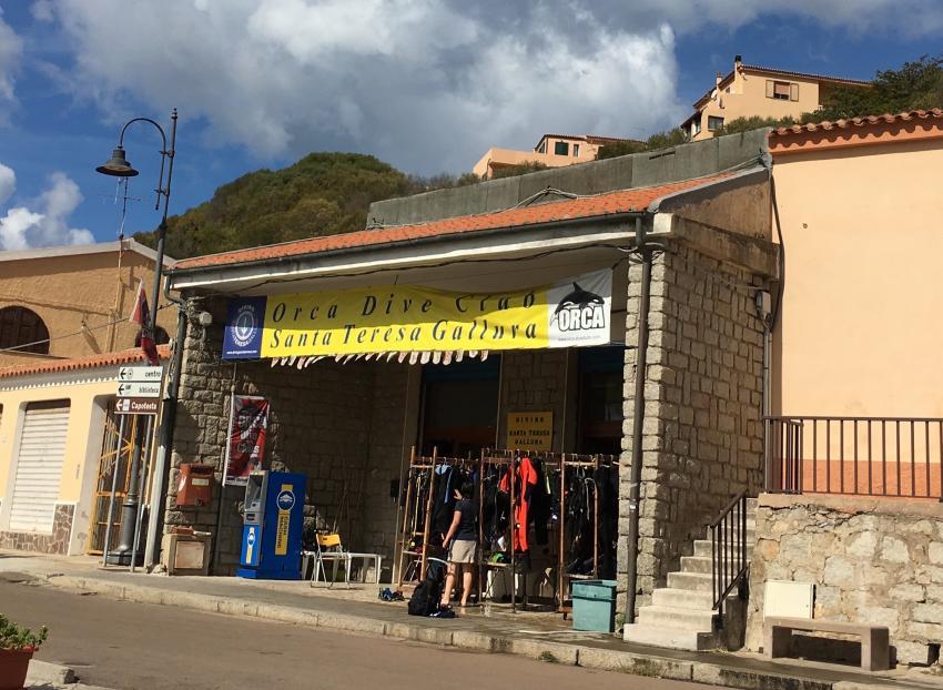Basis, ORCA Dive Club Sardinien, Santa Teresa di Gallura, Italien, Sardinien