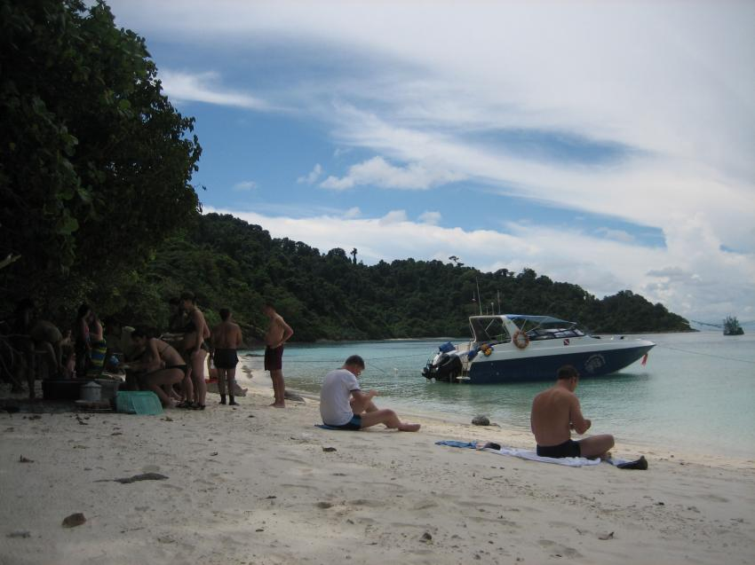 Strand im Koh Rang