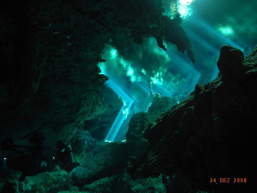 Cancun, Cancun,Mexiko,Cenote,Lichterspiel,Cave,Höhle