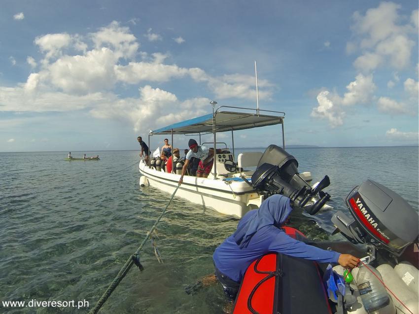 Pintuyan Dive Resort nach dem Taifun, Pintuyan,Philippinen