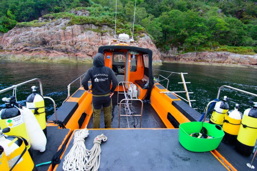 Dive Oban & Argyll, Großbritannien, Schottland